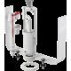 """Выпускной комплект с нижним подводом воды со стоп кнопкой 1/2"""" Alcaplast арт. SA2000S, Чехия"""