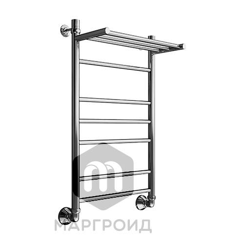 Полотенцесушитель В10 Р100*50 с полкой г/г нижнее подключение, РФ