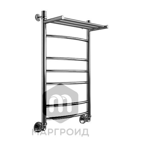 Полотенцесушитель В5 Р80*50 с полкой г/г боковое подключение, РФ