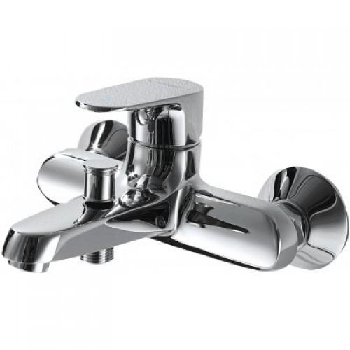 F6120178CP-01 BRAVAT ALFA Смеситель однорычаж. д/ванны и душа , Китай
