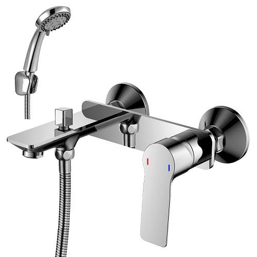 RS27-31 смеситель одноручн. д/ванны (35мм) с коротким изливом, хром, РФ