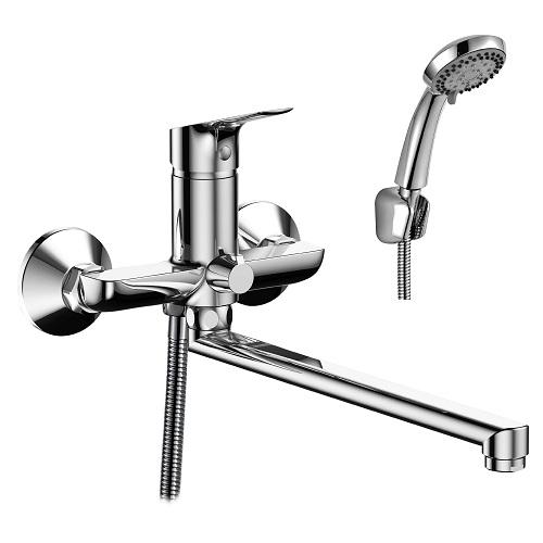 RS29-33 смеситель одноручн. д/ванны с плоск. поворотным изливом, хром, РФ