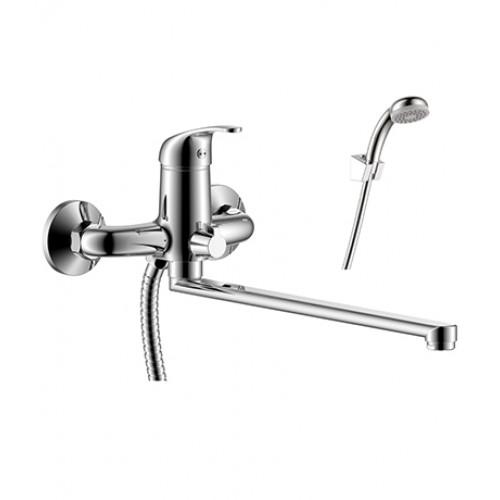 Y 35-32 Смеситель одноручный д/ванны (35мм) с плоск. изливом 350мм, хром, РФ