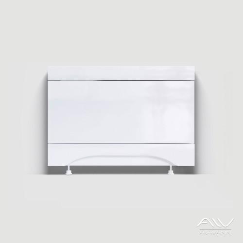 Экран под ванну 0,7 м МДФ торцевой белый, РФ