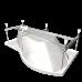 Ванна акриловая МИШЕЛЬ правая 1700*960, РФ