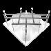 Ванна акриловая САБИНА 1600*1600 угловая, РФ
