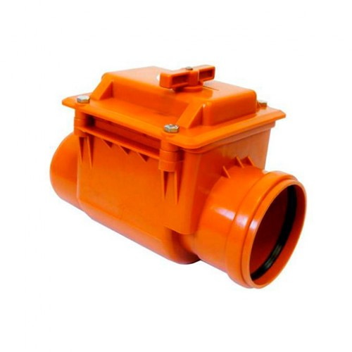 Клапан обратный ПП наружная канализация Ду 110, Германия