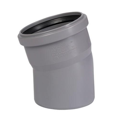 Отвод ПП для внутренней канализации Dn 110х15, РФ