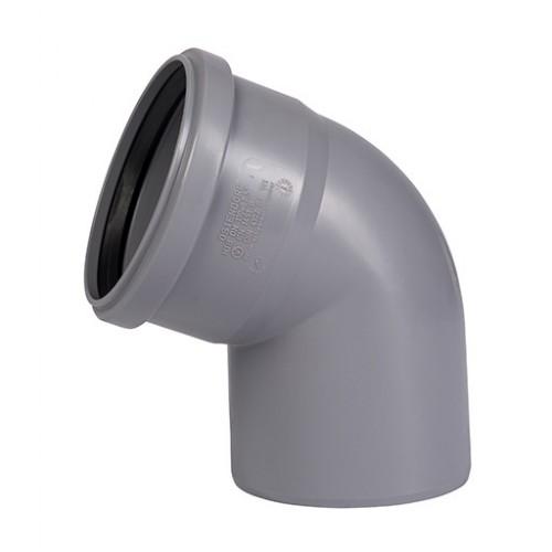 Отвод ПП для внутренней канализации Dn 110х67, РФ