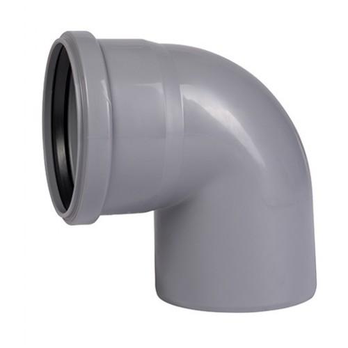 Отвод ПП для внутренней канализации Dn 32х87, РФ