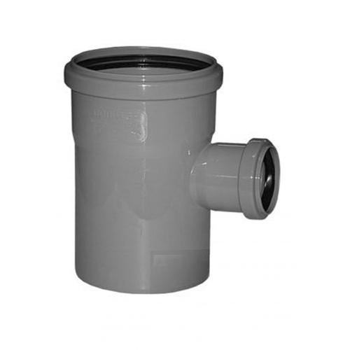 Тройник ПП для внутренней канализации Dn 110/50х87, РФ