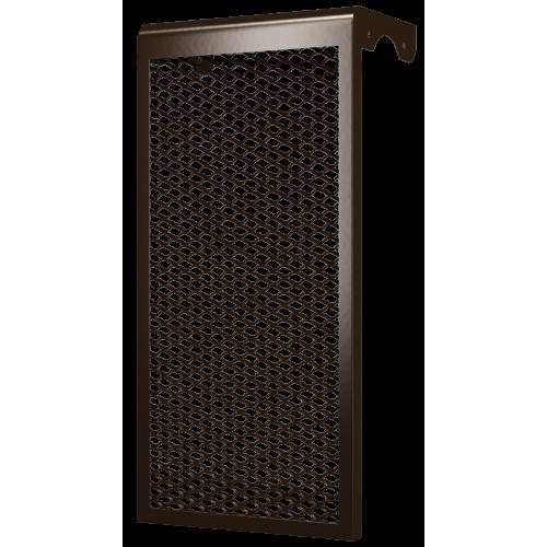 Декоративный металлический экран 3-х секционный КОРИЧНЕВЫЙ 3ДМЭР кор, РФ