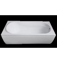Ванна акриловая  AQUA 1700х750х481 с сифоном, РБ