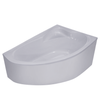 Ванна акриловая  NIKA 1600х1050х502 с сифоном, РБ