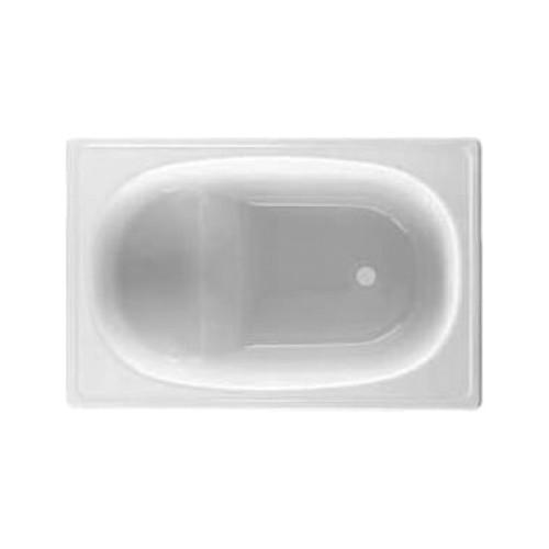 Ванна стальная BLB EUROPA 105х70 2,2мм СИДЯЧАЯ WHITE B05E22001, Португалия