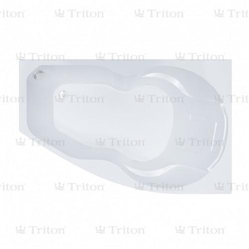 Ванна акриловая ЛАЙМА левая 1600*950, РФ