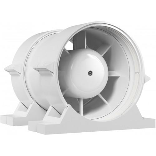 Вентилятор d-125мм канальный шарикоподшипник с креп. компл. ЭРА PRO5, РФ