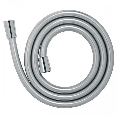 Душевой шланг 150 см ПВХ серебряного цвета FERRO W40, Польша
