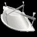 Ванна акриловая СИНДИ 1250*1250 угловая, РФ