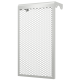 Декоративный металлический экран 4-х секционный ЭРА 4ДМЭР, РФ