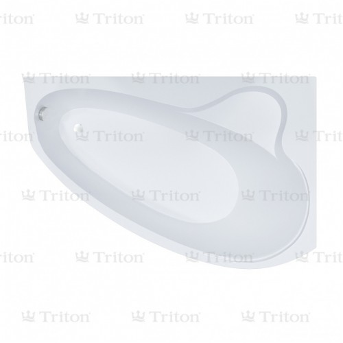 Ванна акриловая ПЕАРЛ-ШЕЛЛ левая 1600*1040, РФ